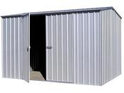 """Abri jardin métal """"Shelby"""" - 4.5 m² - 3.00 x 1.52 x 2 m"""