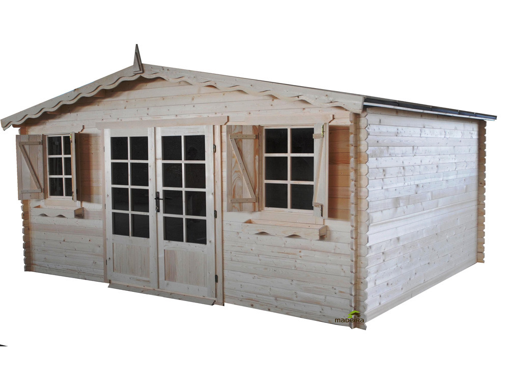 chalet jardin bois leisure retreat x x 45mm 38188. Black Bedroom Furniture Sets. Home Design Ideas