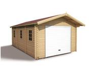 Garage bois - 32.08 m² - 6.85 x 3.98 x 2.97 m - 43 mm