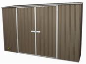 """Abri de jardin métal """"Clay""""- 2.34 m² - 3.00 x 0.78 x 1.95 m"""