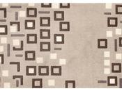 """Tapis """"Urban"""" en velours - L 97 x l 64 cm"""