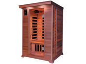 "Cabine de sauna Infrarouge ""Luxe"" 2 places 120 x 120 x 190 cm"