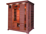 "Cabine de sauna Infrarouge ""Luxe"" 3 places 153 x 125 x 190 cm"