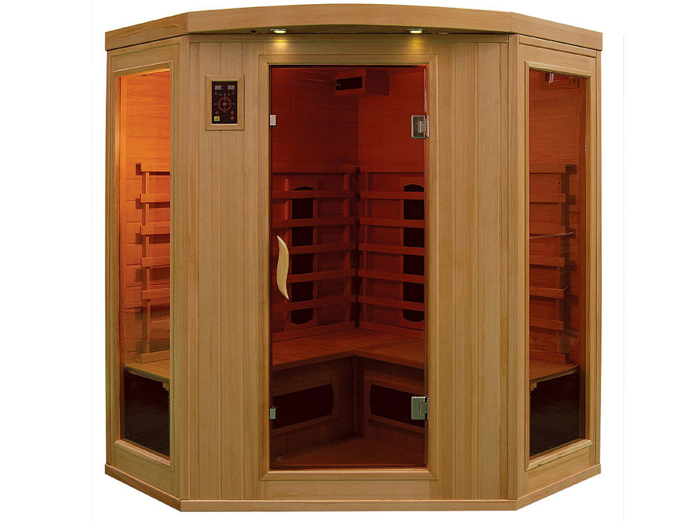 cabine de sauna infrarouge apollon 37991 37996. Black Bedroom Furniture Sets. Home Design Ideas