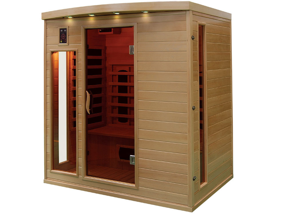 cabine de sauna infrarouge apollon 37991 37997. Black Bedroom Furniture Sets. Home Design Ideas