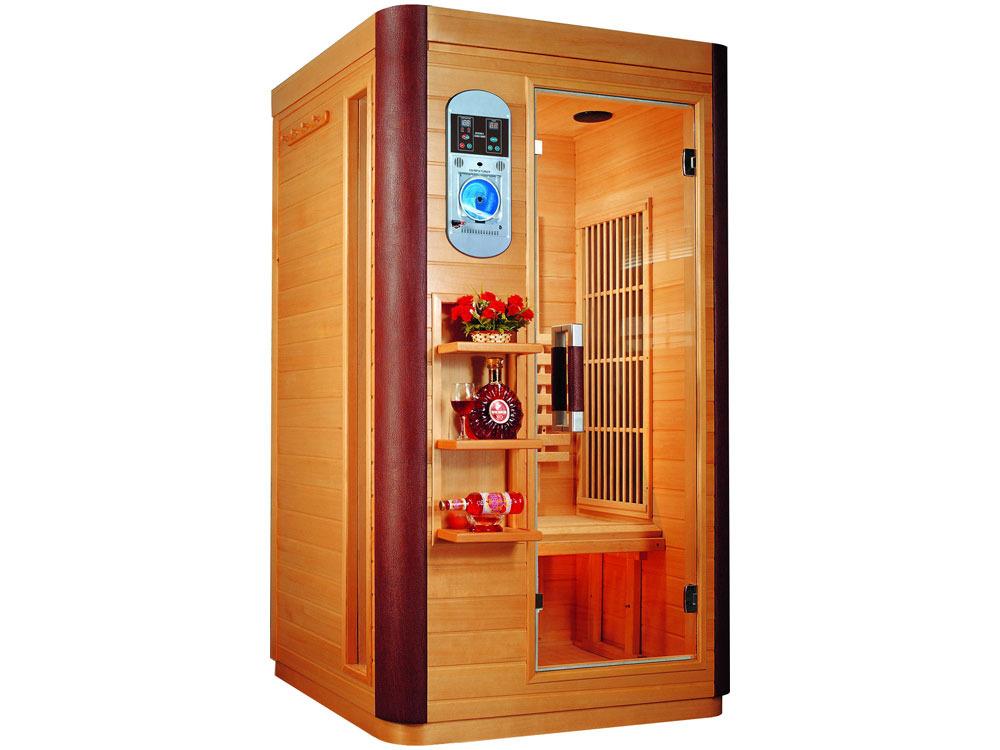 cabine de sauna infrarouge prince 38002. Black Bedroom Furniture Sets. Home Design Ideas