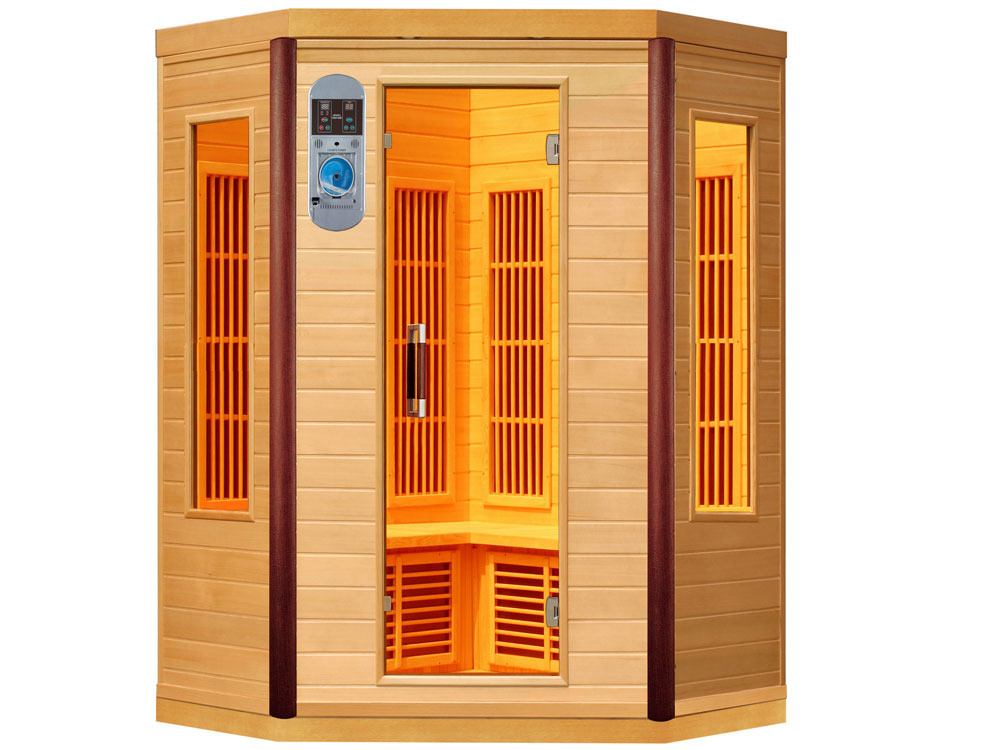 cabine de sauna infrarouge prince 38002 38005. Black Bedroom Furniture Sets. Home Design Ideas