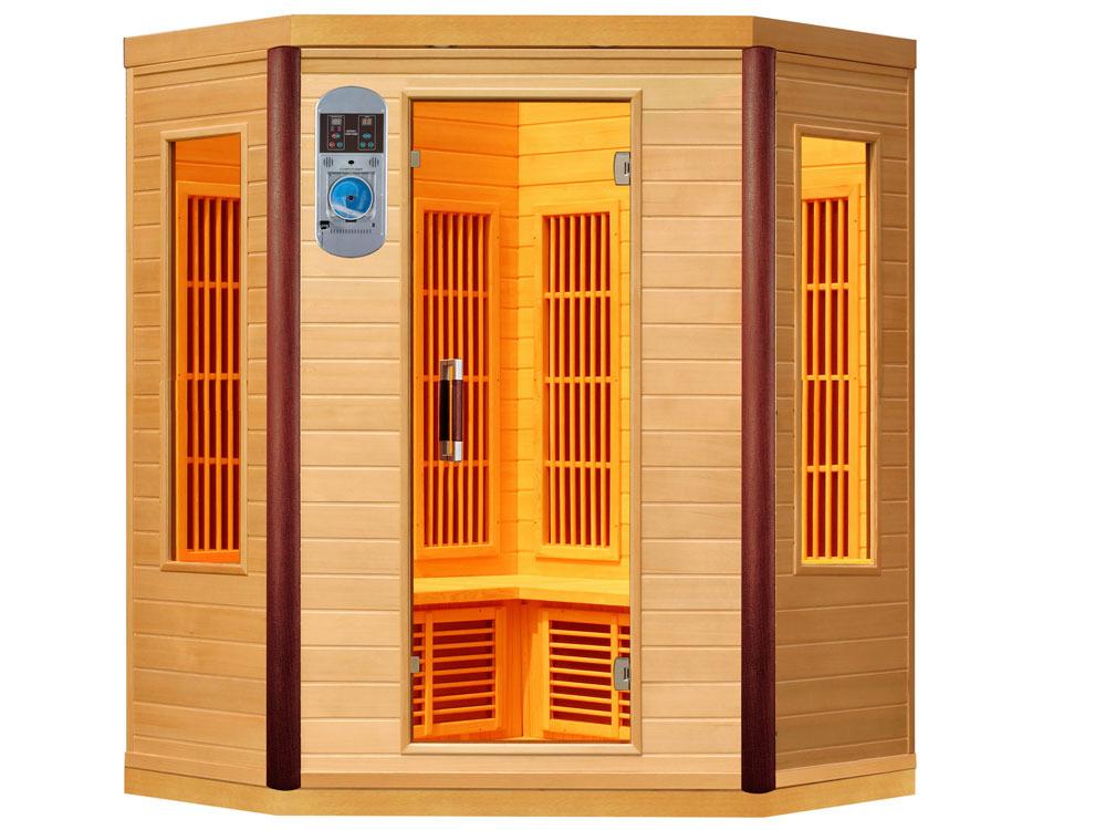 cabine de sauna infrarouge prince 38002 38007. Black Bedroom Furniture Sets. Home Design Ideas