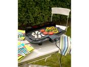 """Barbecue électrique """"Citadin"""" avec cuisson sur plancha - 2000 W"""
