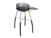 """Barbecue à charbon de bois """"Tondino"""" - 3 hauteurs de cuisson - Ø 42 x 12 cm"""