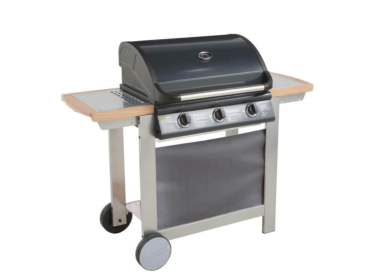 barbecue gaz texas 3 bruleurs 8 1 kw plancha. Black Bedroom Furniture Sets. Home Design Ideas