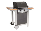 "Barbecue gaz ""Fiesta"" - 2 brûleurs - 2 x 3,5 kw"