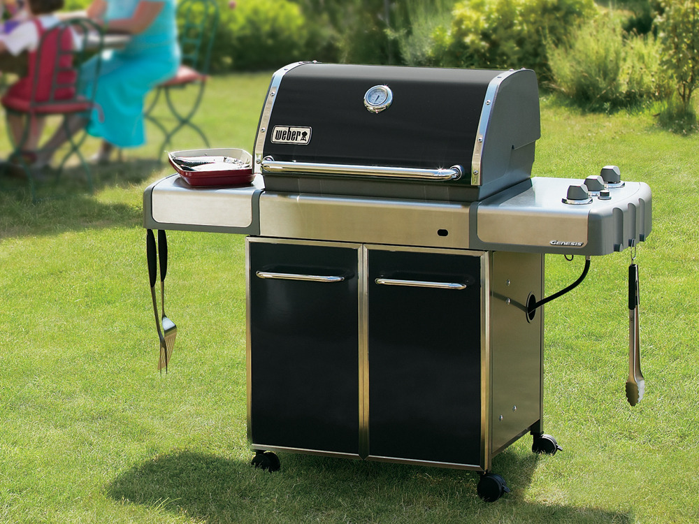 Barbecue gaz genesis e 310 12 3 kw 33059 - Barbecue gaz weber ou campingaz ...
