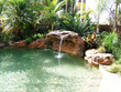 "Cascade piscine ""Polynésien"" - 170 x 110 x 81,2 cm (L x P x H )"