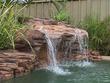 "Cascade piscine ""Polynésien"" - 120 x 97 x 70 cm (L x P x H )"