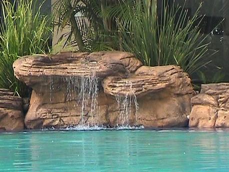 "Cascade piscine ""Summit"" - 198 x 120 x 72 cm"