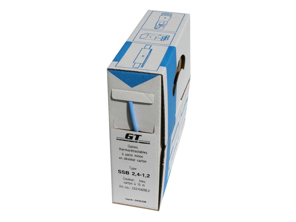 Accessoires - Gaine thermorétractable - Application: ø1,8 à 1,4mm