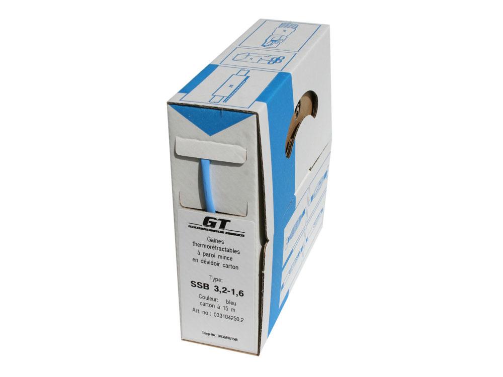 Accessoires - Gaine thermorétractable - Application: ø2,7 à 1,8mm