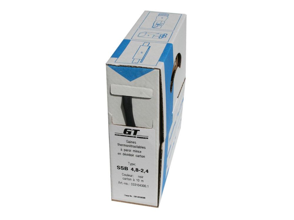 Accessoires - Gaine thermorétractable - Application: ø3,6 à 2,6mm