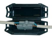 """Boite GEL de jonction de 2 connecteurs """"GTQT-K1-2WG201"""""""
