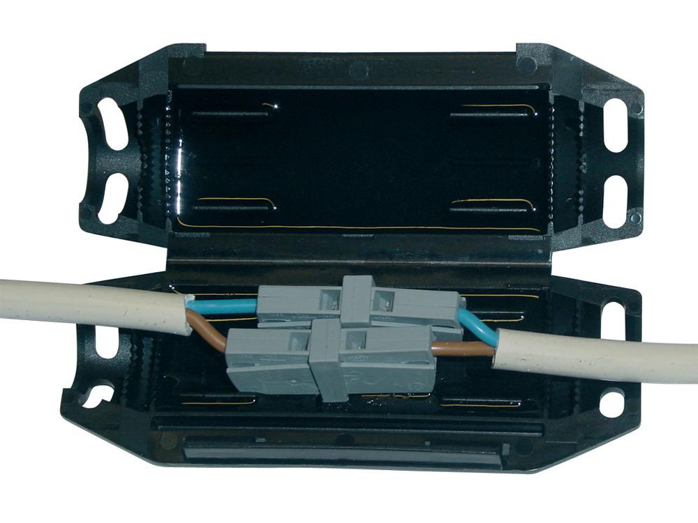 Boite GEL de jonction de 2 connecteurs GTQT-K1-2WG201