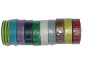 Ruban adhésif PVC couleur panaché - 20 m - 10 rubans
