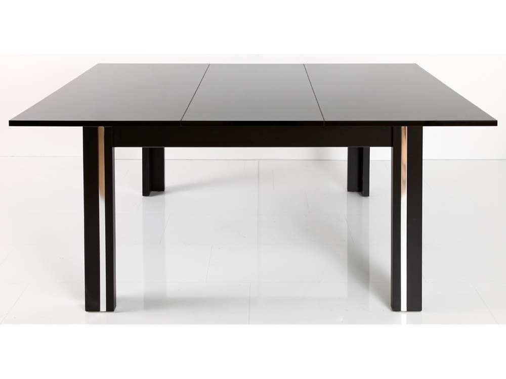 Table de repas laker avec rallonge 120 170 x 74 x 120 cm - Table sejour avec rallonge ...