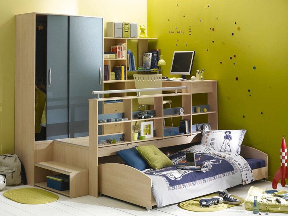 couleur chambre ado chambre ado meuble couleur pictures - Lit Podium Conforama