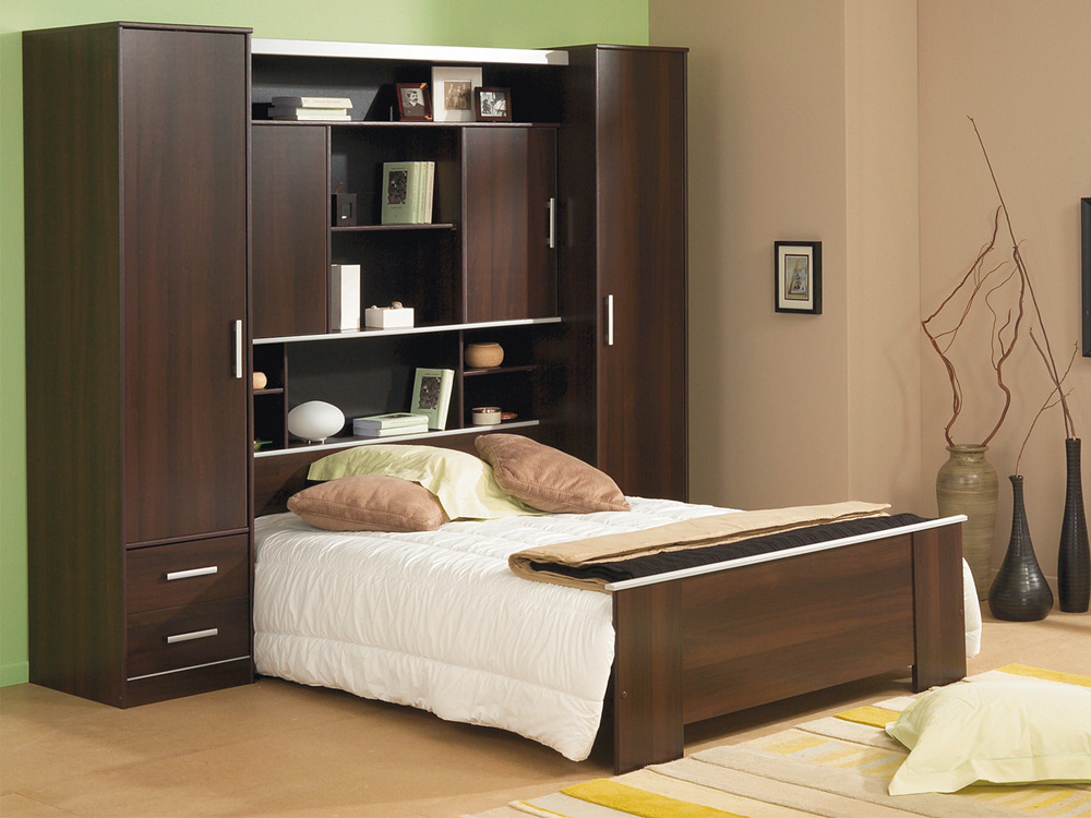 lit pont santiago 140 x 190 cm 56234. Black Bedroom Furniture Sets. Home Design Ideas