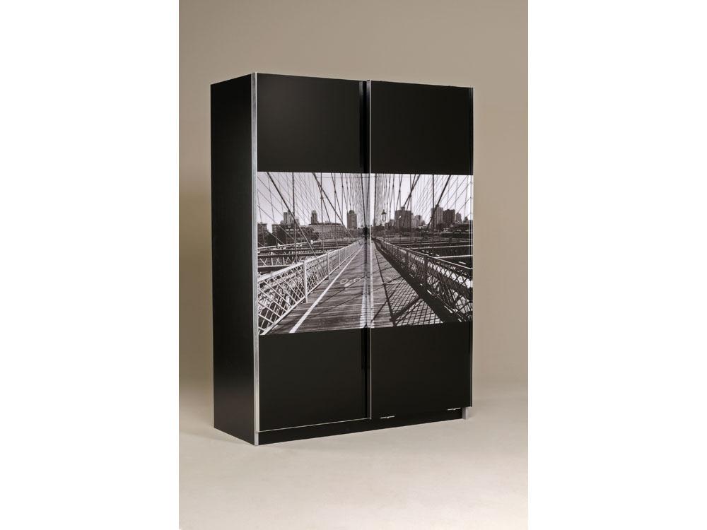 Armoire de chambre new york - Acheter armoire pas cher ...