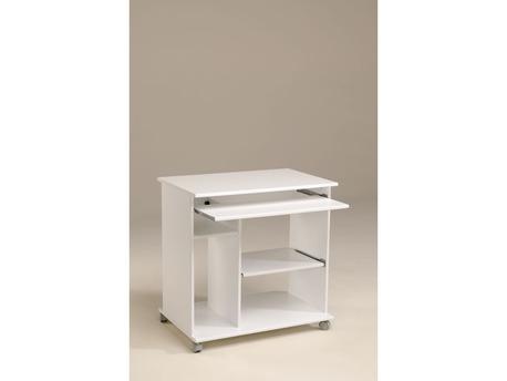 "Bureau ""Coka"" - 76 x 50 x 76 cm - Blanc Megève"