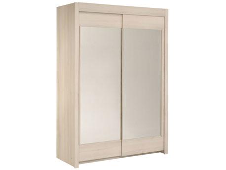"""Armoire 2 portes """"Soft"""" - 156 x 61 x 217 cm"""