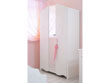 "Armoire 2 portes ""Sweet Love"" - 116 x 52 x 188 cm"