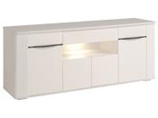 "Buffet lumineux ""Ciri"" - 201,2 x 52  x 83,38 cm - Blanc"