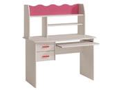 """Bureau """"Doll"""" - En panneaux de particules - 2 étagères, 2 tiroirs et 1 niche"""
