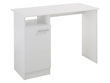 "Bureau ""Soft"" - 100 x 49 x 74 cm - Coloris blanc"