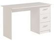 "Bureau ""Soft"" - 121 x 55 x 74 cm - Coloris blanc"