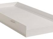 """Tiroir-lit """"Nougat"""" - 190 x 92 x 20 cm - Compatible lits enfant 190 x 90 cm"""