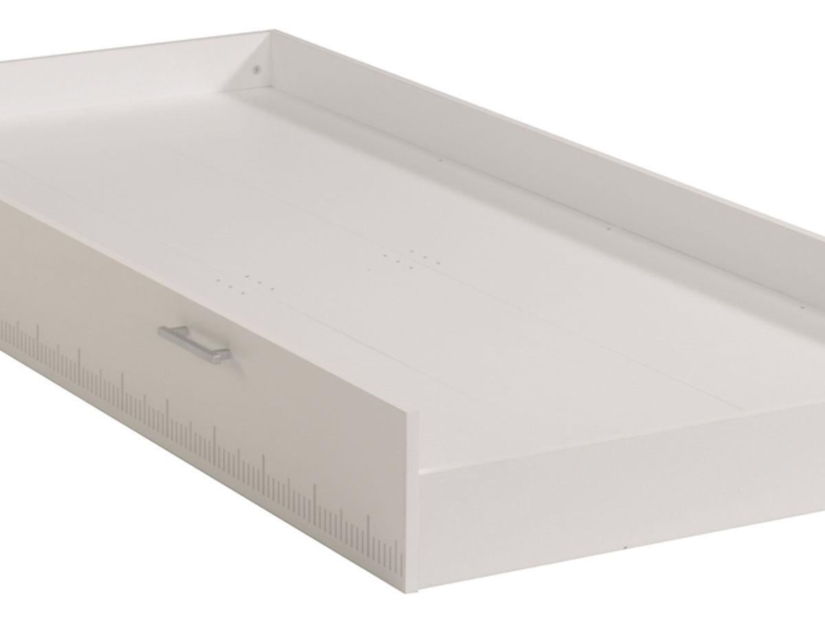 Tiroir-lit Nougat - 190 x 92 x 20 cm - Compatible lits enfant 190 x 90 cm