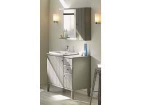 Meuble vasque + vasque + miroir