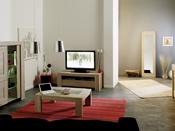 """Meuble TV """"Matias"""" - 142.7 x 48.8 x 51.4 cm - Chêne"""