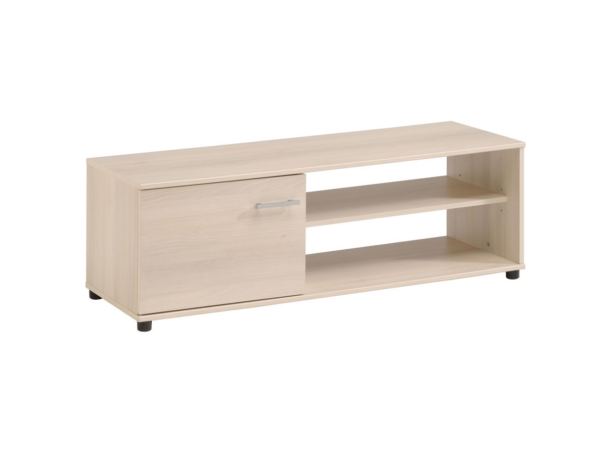 Meuble TV Soft - 121 x 40 x 41 cm - Acacia