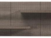 """Etagère murale """"Wool"""" - 138 x 19 x 33 cm - Réglisse"""
