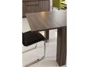 """Rallonge pour table """"Wool"""" - 88 x 40 x 6 cm - Réglisse"""