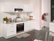 "Ensemble cuisine ""Shiny"" - 2,4 m - Blanc brillant"