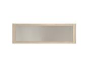 "Miroir mural ""Karina"" - 198 x 62 x 3 cm - Coloris chêne/béton"