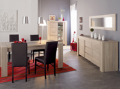 "Table repas ""Matias""- 240 x 90 x 79 cm - Chêne"