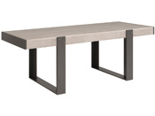 "Table repas Arches ""Travel"" -  223,9 x 90 x 78,2 cm - Gris"