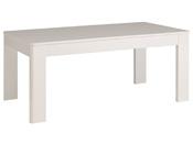 "Table Repas ""Ciri"" - 229,8 x 77,8  x 91,5 cm - Coloris blanc"