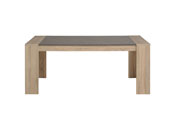 "Table repas ""Break"" - 177 x 91 x 75 cm - Chêne/béton"